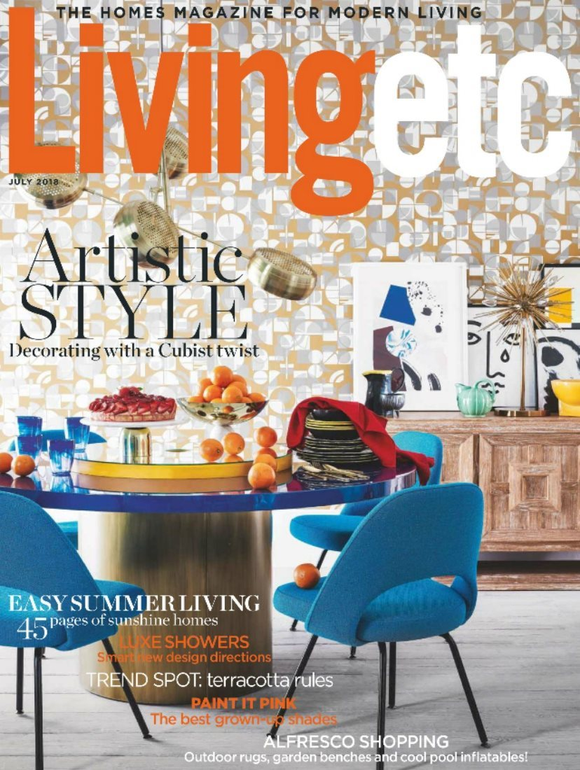 Living Etc_July 2018_cover